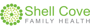 shellcove family health logo horizontal